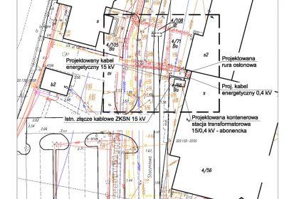 Projekty abonenckich stacji transformatorowych